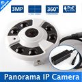 Cámara panorámica Multi Funtion de ojo de Pez de 360 Grados de La Cámara IP 3MP POE M3881C + AR0330 1 A 4 Video De Corte IR 20 M 5MP 1.42mm lente