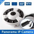 Panoramic Camera Multi Funtion FishEye 360Degree IP Camera 3MP POE M3881C+AR0330 1 To 4 Video Cutting IR 20M 5MP 1.42mm Lens