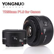 YONGNUO YN50mm YN50 F1.8 Camera Lens EF 50mm AF MF Lenti Per Canon Rebel T6 EOS 700D 750D 800D 5D Mark II IV 10D 1300D Yongnuo