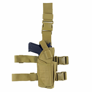 Image 5 - Tactical Universal Drop Leg Holster gun holster bag Adjustable Thigh Pistol Gun Holster for Right Handed