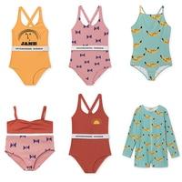 2017 Summer Hot Baby Girls Swimsuits 1 Piece Swim Wears Girls Rompers Baby Girls Clothes Vestidos