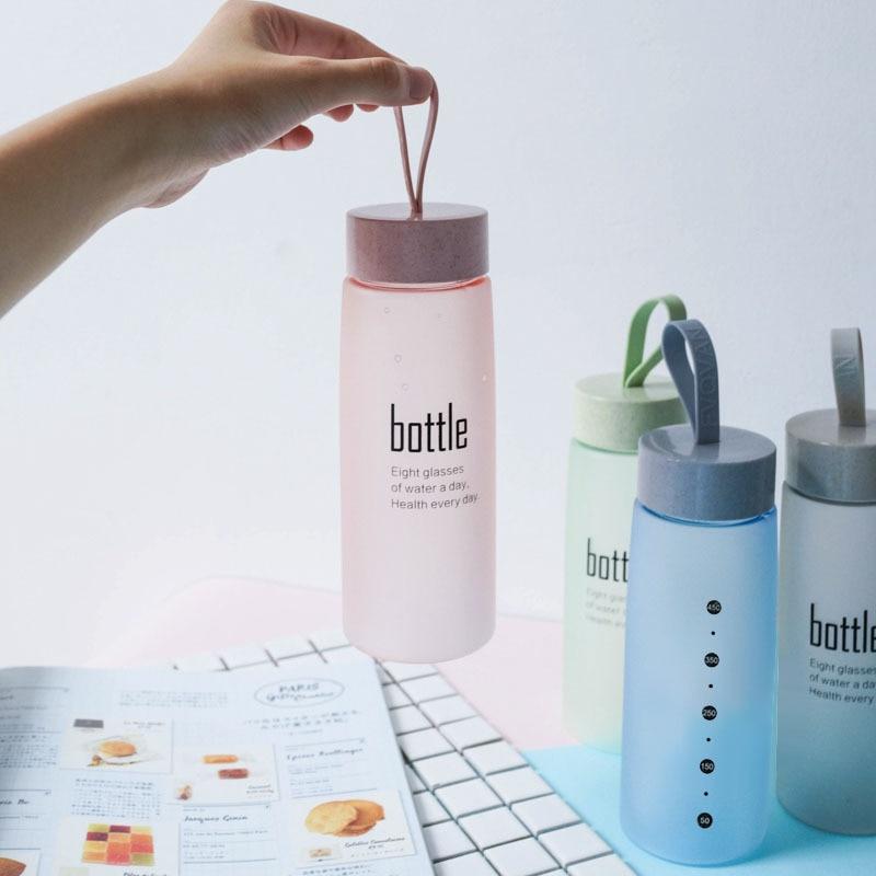 HTB1fLYlmBfH8KJjy1Xbq6zLdXXao BPA Free Water Bottle Plastic Sport Scrub Leak Proof Drinking My Bottle Portable Fashion Drinkware Tour Bottles for Lovers H1094
