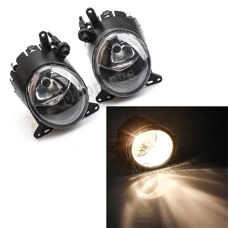 For Lancer X Fog Lights For Mitsubishi Lancer Lancer-ex 2008-2013 LED Halogen Fog Lamps Fog Light Headlights Fog Lamp Foglights