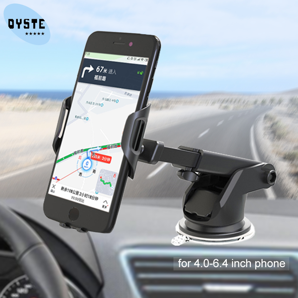 Suporte Celular Carro Windshield Universal Car Phone Holder Soporte Auto Mobile Car Holder Cell Phone Support Smartphone Voiture