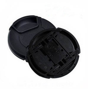 Image 1 - 30 יח\חבילה 49 52 55 58 62 67 72 77 82 86mm מרכז צבוט Snap on כיסוי כובע מצלמה לן כובע לוגו עבור canon/ניקון מצלמה עדשה