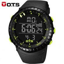 OTS Montre Numérique Hommes Sport Montres 50 M Étanche De Natation Grand Cadran Heures Horloge Militaire Montres Homme Relogio Masculino