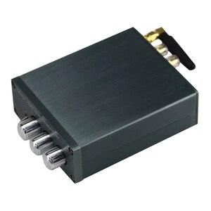 Image 4 - TPA3116 100 Вт * 2 Bluetooth цифровой усилитель, аудиомашина, автомобильный домашний кинотеатр с преусилителем, тоновый твитер, регулировка басов, DC24V