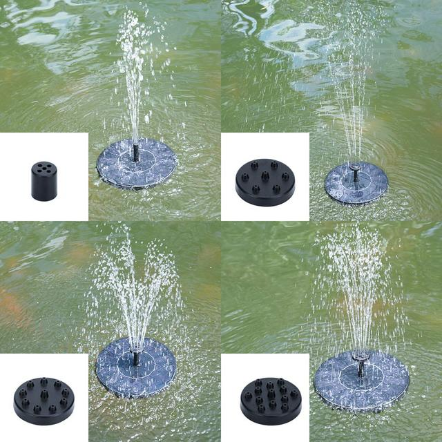 Solar Power Floating Water Pump Solar Panel Kit Gardening Plants Watering Power Fountain Pool Pond Watering System Accessories