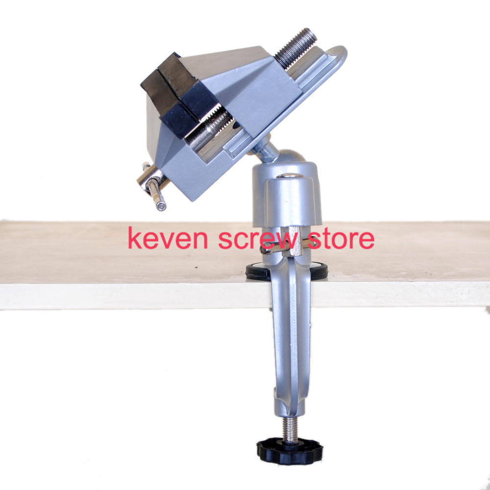 1pcs 8003 Units Mini Precise Vise table vise Universal Aluminum Alloy 360 degree rotating milling machine bench vise clamp wood small mini vise aluminum table vise r deer rh 003 upscale movable table vise can be rotated 360 degrees upscale vise
