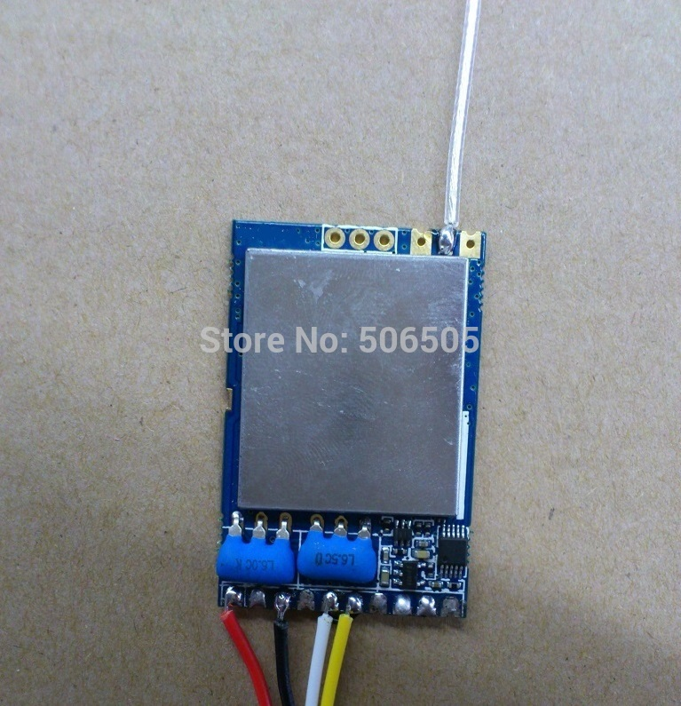 3.3-5V 8CH 1.2Ghz Wireless  Audio And Video Receiver Module