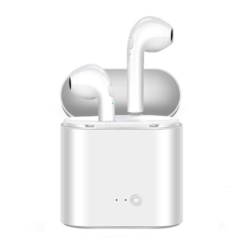 TWS V4.1 Bluetooth Earphones Pair Set with Charger Wireless Earphone Music Earbuds For iPhone 6 Samsung Xiaomi Sony Head Phone bluetooth headset earphone with 2 in 1 car charger for iphone 5s 6s 7 for samsung s7 s8 android phone usb charger adapter