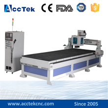 China new design 1500*4500mm cnc cutting machine for wood
