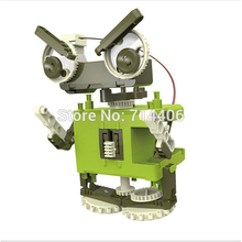 4in1 self-assembled transformation robot,children's interactive electronic block toys,educational robot toy model