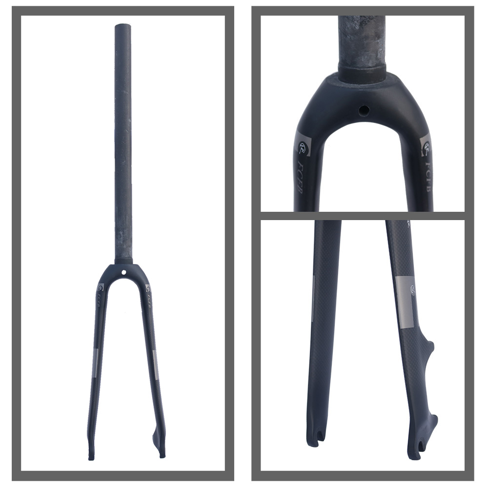 ФОТО 2016 FCFB FW 20-inch folding bike BMX fork T800 full carbon fiber bicycle fork 1-1/8
