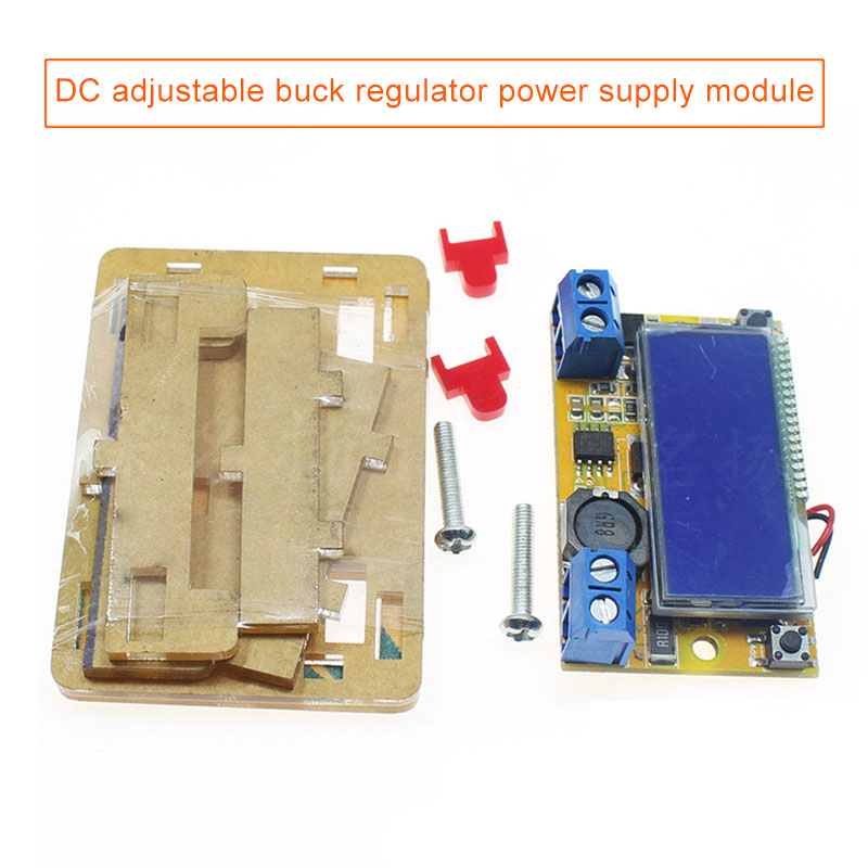 DC-DC Adjustable Step-down Power Supply Module LCD Display 3A LCC77DC-DC Adjustable Step-down Power Supply Module LCD Display 3A LCC77