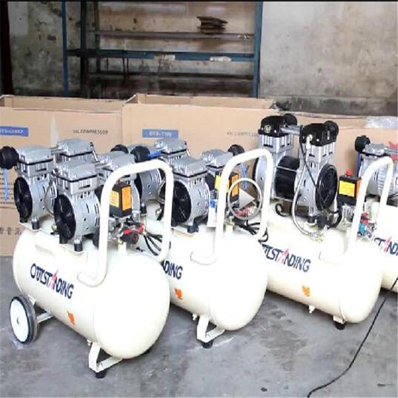 Безмасляный Воздушный Компрессор Высокого давления Газовый Насос Спрей Деревообработка Воздушный компрессор небольшой насос 800-30L