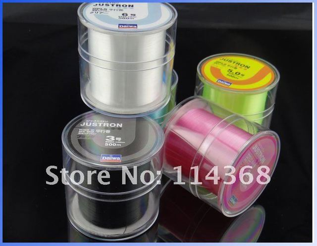 Free Shipping Strong Quality Monofilament 500m Cheap Nylon Fishing Line 8LB 10LB 12LB 16LB 20LB 25LB