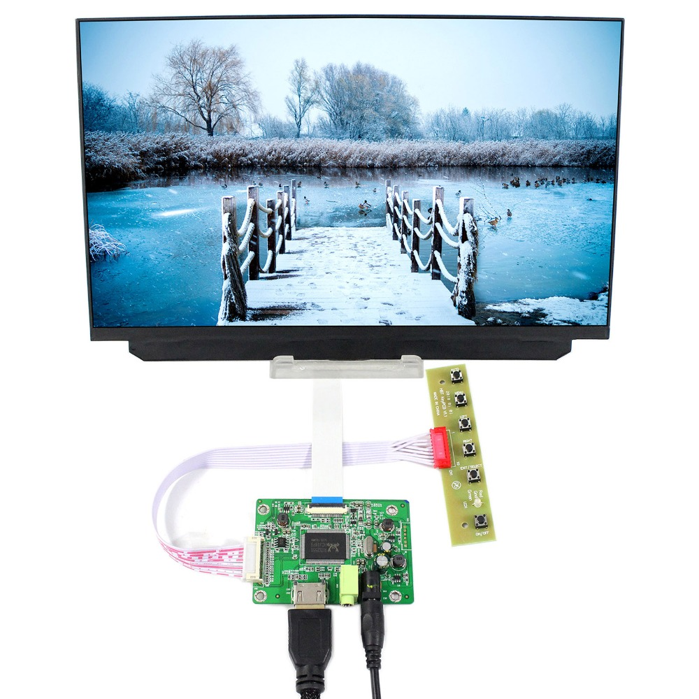 HDMI+VGA LCD Controller Board VS-RTD2556H-V1+12.5inch 1920x1080 B125HAN02.2 EDP IPS LCD Screen free shipping vga controller board for 15 6inch lp156wf1 tpb1 edp 30pin lcd 1920x1080 screen
