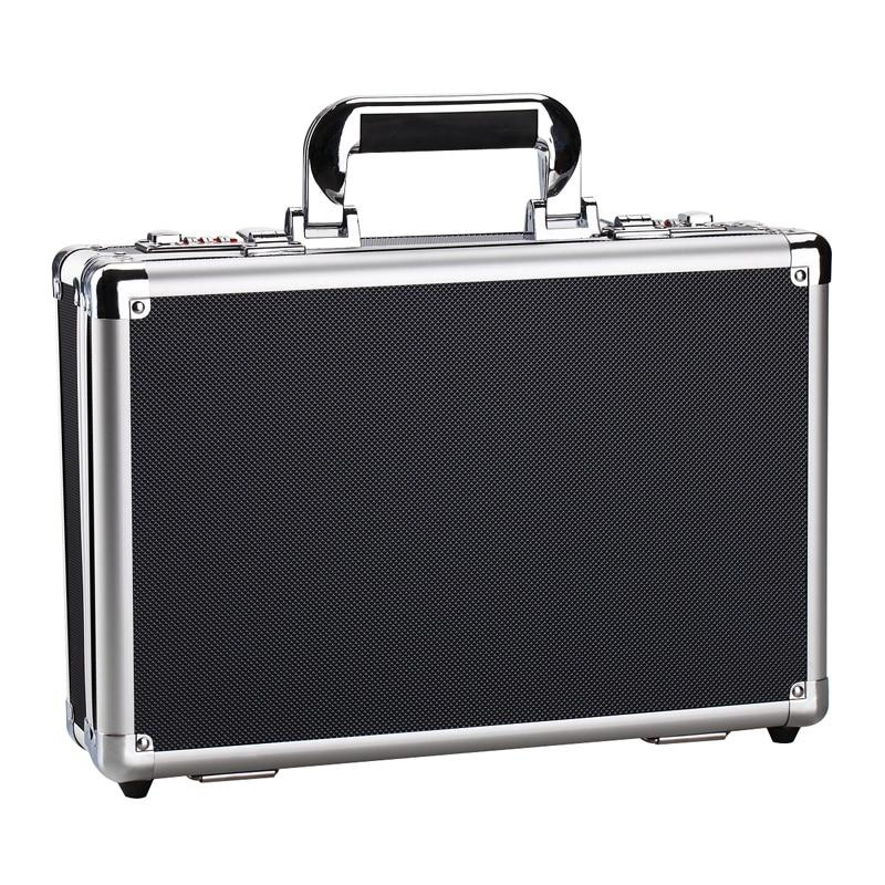 Aluminium Flight Carry Case Bronze Camera Tool Case Portable Travel Camera Storage Box