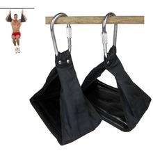 Fitness Padded Hanging AB Straps Pull Up Abdominal Belt Crossfit Belly 6-Pack Pullup Carver Gym Workout Training Equipment