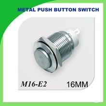 3 PCS metal push button 16mm Metal Momentary Push Button Switch 3PCS self-locking