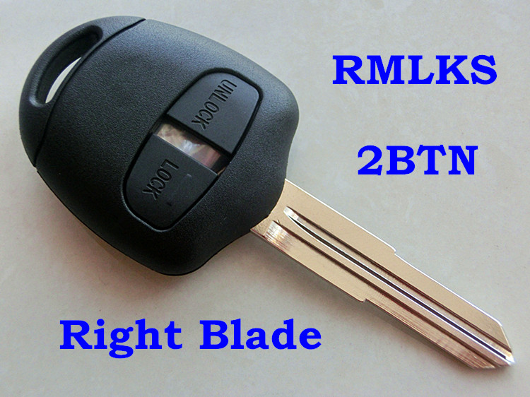 Remote Key Blank Shell Case Cover For Mitsubishi Lancer Montero Eclipse 3 Button