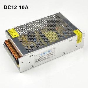 Image 5 - אספקת חשמל led נהג AC 220V כדי DC 12 V 1A 3A 5A 8A 10A 15A 20A 12 וולט מטען step down מתאם תאורת שנאי