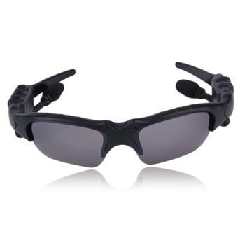 Wireless Handsfree Bluetooth 4.1 Headset Stereo Headphone Sunglasses Sports Music Driving Sun Riding Glasses ABS+PC Earphone