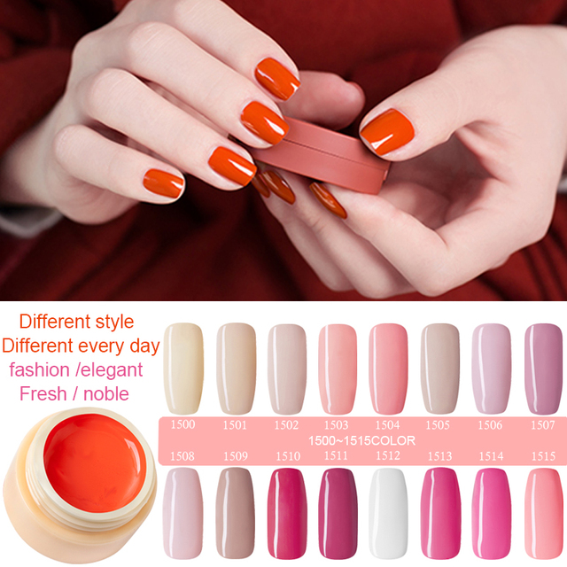 MDSKL 75 Colors UV Gel Manicure DIY Nail Art Tips Gel Polish Design Nail Painting Color 5ml Gel Varnish-in Nail Gel from Beauty & Health on ...