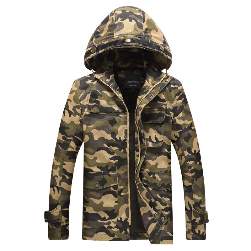 Brand Men s Denim jacket Designer Fahion Hood Stand Collar Plus Size Long Casual Jacket Coat