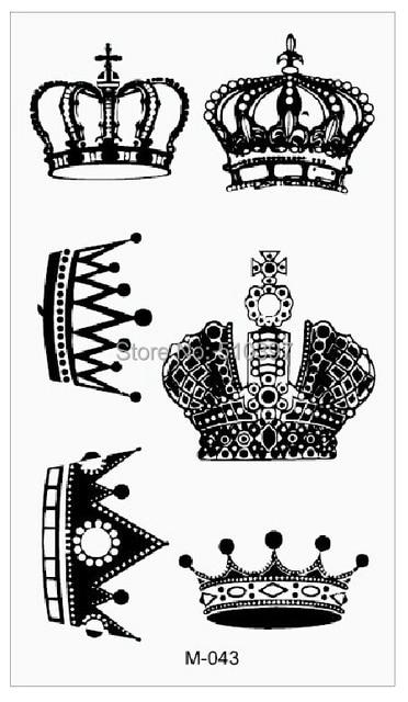 1 pc/lote / m 043, tatouages autocollants / knuckle, corps, doigt
