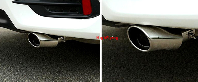 For Nissan Pulsar Sentra Sylphy 2006 2016 Tail Exhaust Pipe Rear Ler Tip