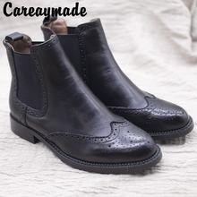 Кожаная обувь ручной работы careaymade для отдыха возрождения