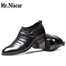 LEO 2016 Classical Men's Dress Flat Shoes Luxury Mens Business Oxfords Casual Shoe Black / Brown Leather Derby Shoes