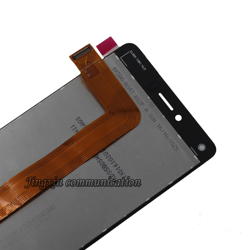 """Image 5 - 5.0"""" for BQ Aquaris U Lite LCD + touch screen digitizer assembly replaced with for BQ Aquaris U display repair parts with frame-in Mobile Phone LCD Screens from Cellphones & Telecommunications"""
