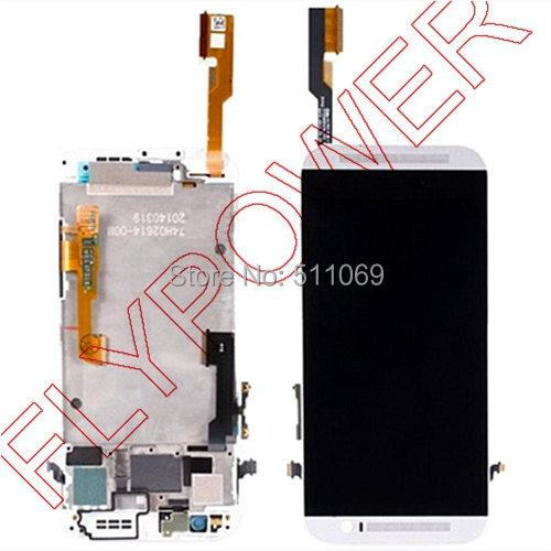 Подробнее о For HTC One M8 831C LCD Screen Display with Touch Screen Digitizer+Frame Assembly by free shipping; 100% warranty; white color black white color for htc one m8 1pc lot lcd display touch screen digitizer with frame replacement free shipping