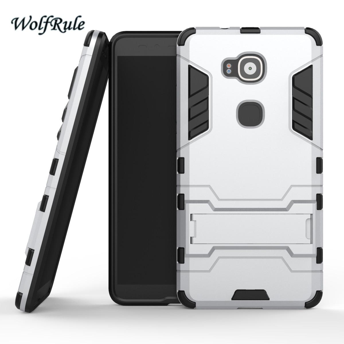 WolfRule Anti-knock Case Huawei G8 Cover Soft Rubber + Hybrid Plastic - Reservdelar och tillbehör för mobiltelefoner - Foto 4