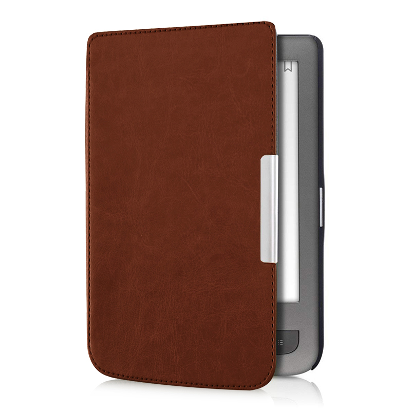 Aroita Business PU Leather Case for PocketBook 626/624/625/614/626Plus/640 and Touch Lux2/3 Basic2/3 E-book