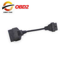 for Toyota 22 Pin To 16 Pin Female OBD 2 Cable Connector Adapter Cable Car Diagnostic Tool Free Shipping