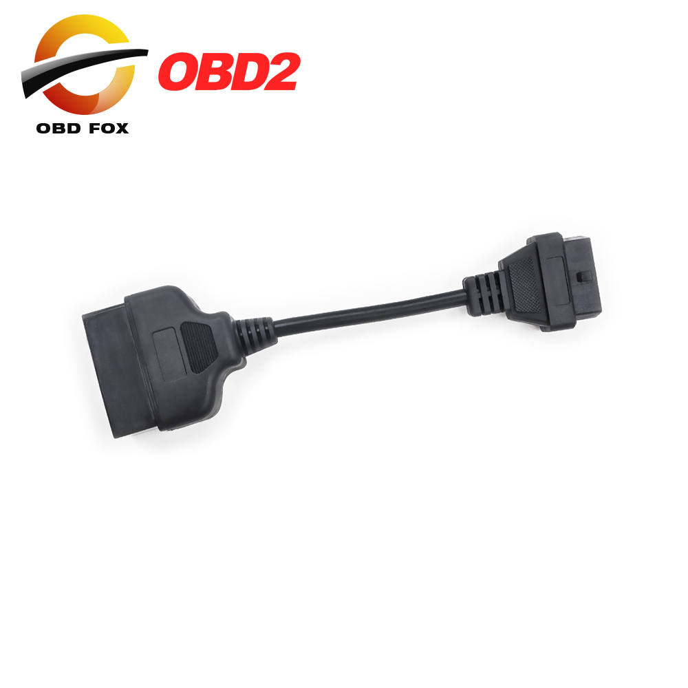 Gm 12 pin obd obd2 connector for gm 12pin adapter to 16pin for gm cars - For Toyota 22 Pin To 16 Pin Female Obd 2 Cable Connector Adapter Cable Car Diagnostic Tool Free Shipping