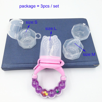 1Pc Fresh Food Nibbler Baby Pacifiers Feeder Kids Fruit Feeder Nipples Feeding Safe Baby Supplies Nipple Teat Pacifier Bottles Nibbler
