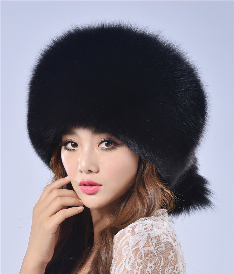Women winter fur cap real fox/raccoon fur hat with fur tail 2015 new fashion Russian ear protector high quality female brand hat hot anime cat yellow cosplay hat cap costume accessory cartoon adult lovers hat winter totolo hat female ear plush animal hat