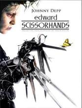 Edward Scissorhands Johnny Depp movie SILK POSTER Decorative painting Wall painting 24x36inch(China)