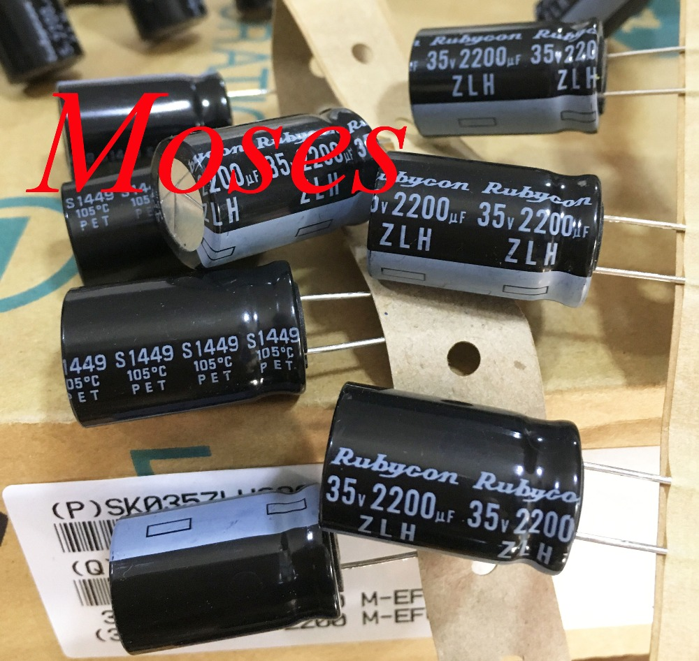 2 Pack Radial Condensador Electrolítico 2200uf 35v