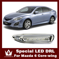 Special Car DRL 6 LED DRL Mazda 6 DRL With Yellow Mazda Turn Signal For