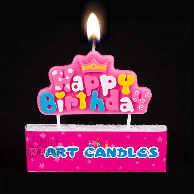 Super Cute Pretty Pink Princess Crown Design For Kids Girls Boys Birthday Cards Printable Nowaargucafe Filternl