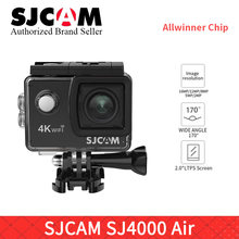 "SJCAM SJ4000 AIR 4k WIFI Action Camera Full HD 4K 30fps WiFi Sport DV 2.0"" Mini Helmet Camera sj cam pro yi 4K camara VS H9R cam(China)"