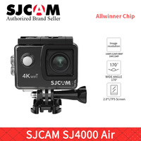 SJCAM SJ4000 AIR 4K 30fps WIFI Action Camera 1080P 60FPS waterproof Sports DV 2.0 Mini Helmet Camera sj cam pro yi 4K camara h9