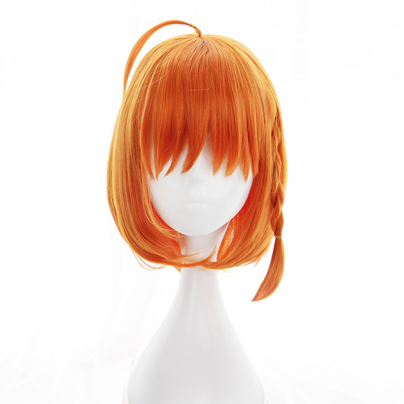NEW High quality Chika Takami Cosplay Wig Love Live! Sunshine!! Costume Play Wigs Halloween Costumes Hair+Wig Cap