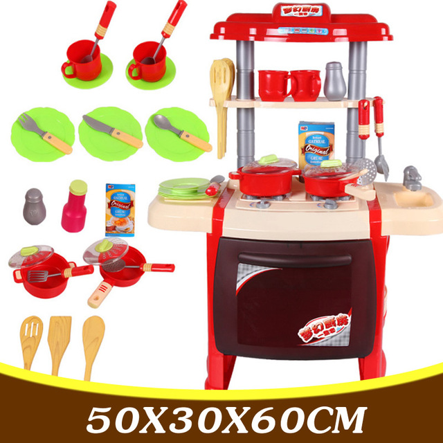 23PCS Baby Child Kitchen Toys Child Girl Cooking Toys Baby Learning Toys Children Pretend Play Toys Set TY12